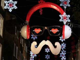 Christmas Lights Tour Carnaby Street
