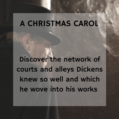 A Christmas Carol, Charles Dickens Walking Tour in London