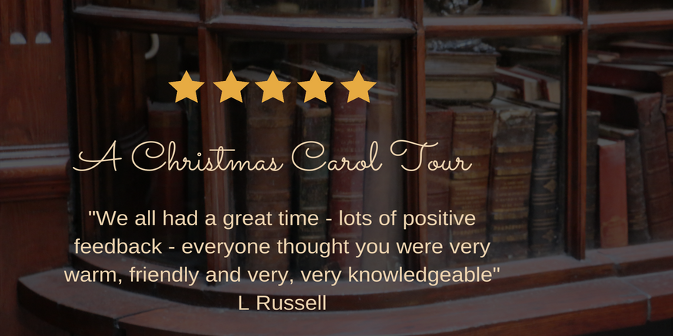 A Christmas Carol Private Tour