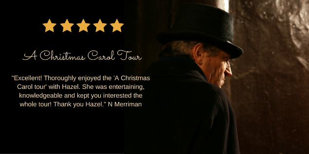 A Christmas Carol Walking Tour